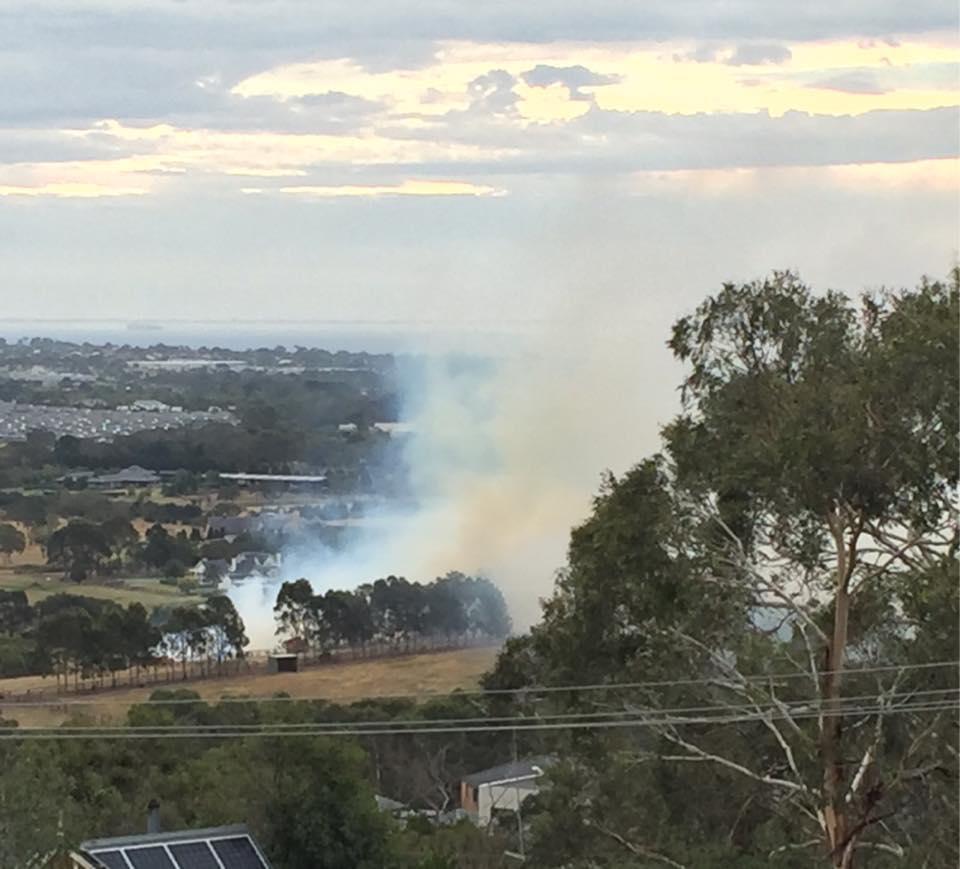 Cobb Road Fire Mount Eliza